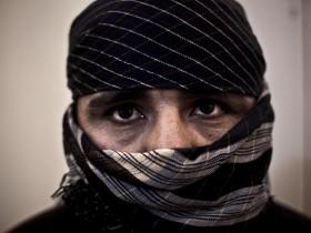 retrato de un talibán
